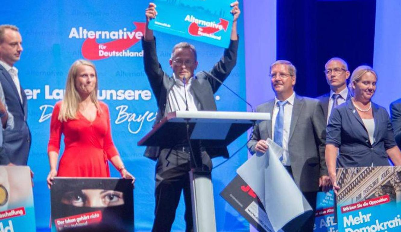 Wahlkampfauftakt der AfD in Bayern