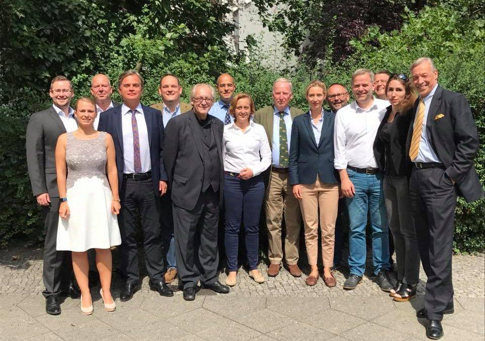 Treffen der Spitzenkandidaten der AfD