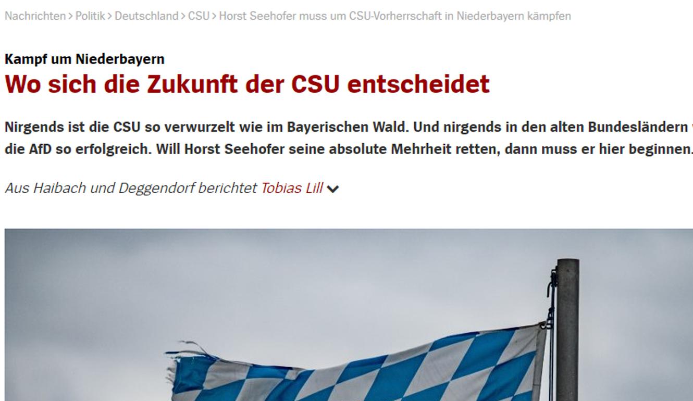 Zukunft der CSU