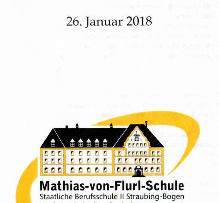 Abschlußfeier Mathias-von-Flurl-Schule