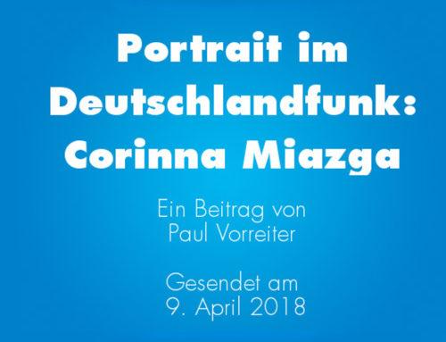 Portrait im Deutschlandfunk
