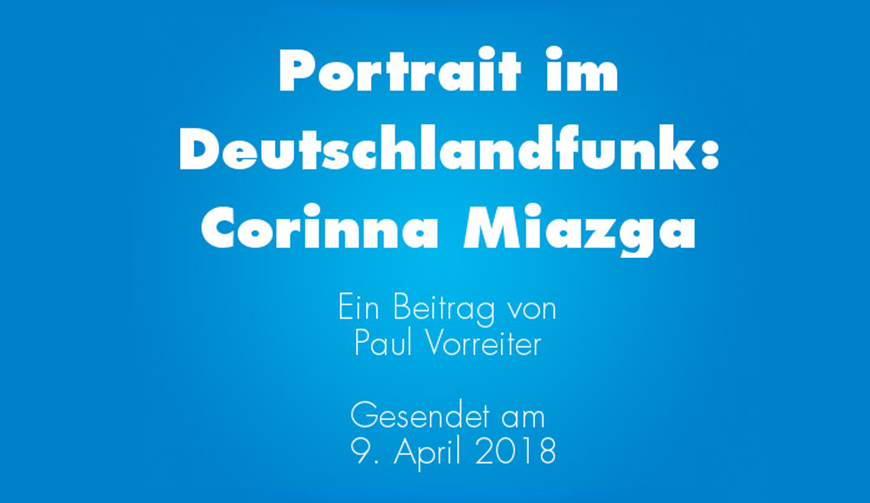 Corinna Miazga Deutschlandfunk