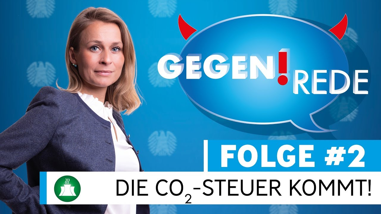 Gegenrede #2: Die CO2-Steuer kommt! | Die alternative Talkshow aus dem Bundestag