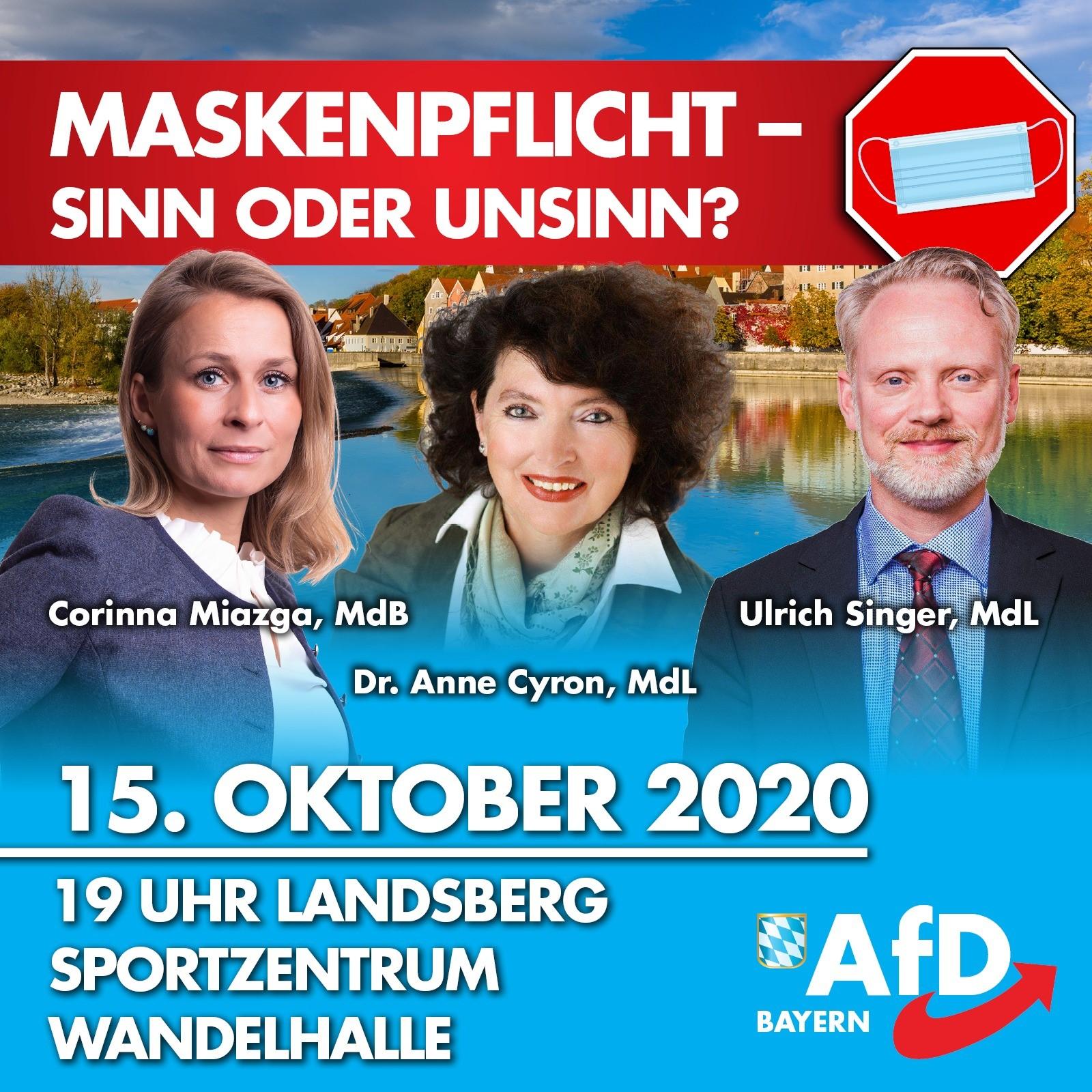 15. Oktober 2020 via Edeltraut KV, Sport- und Veranstaltungszentrum Landsberg am Lech