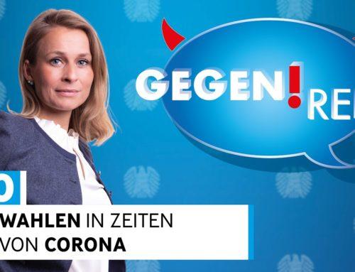 Wahlen in Zeiten von Corona? – Gegenrede mit Corinna Miazga und Gästen aus dem Deutschen Bundestag