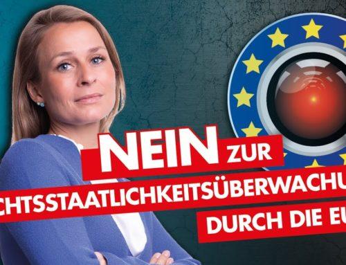 Nein zur Überwachung durch die EU! Corinna Miazga Rede im Deutschen Bundestag am 18.09.2020
