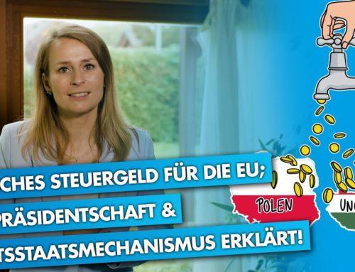 "Merkel: ""Grundrechte in Gefahr"" | Neues Rechtsstaatsmonitoring der EU | Corinna Miazga erklärt!"