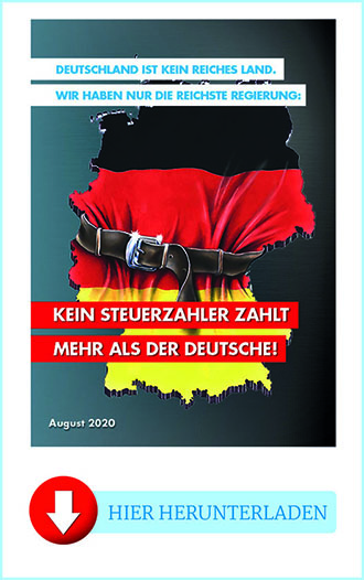 """Flyer """"Paid in Germany"""""""