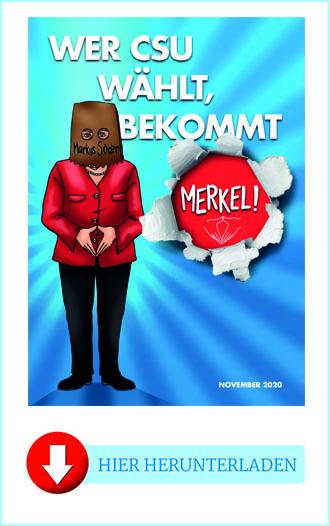 "Flyer ""Merkel Zitate"""