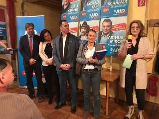 Wahlkampfauftritt KV Mühldorf