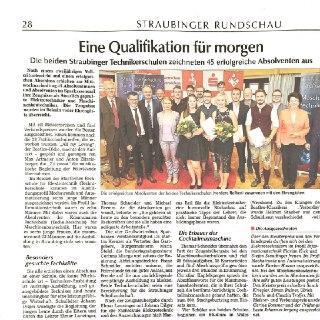 Abschluss der Technikerschule in Straubing