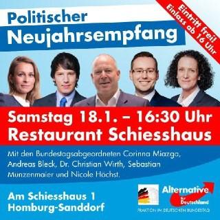 Neujahrsempfang in Homburg