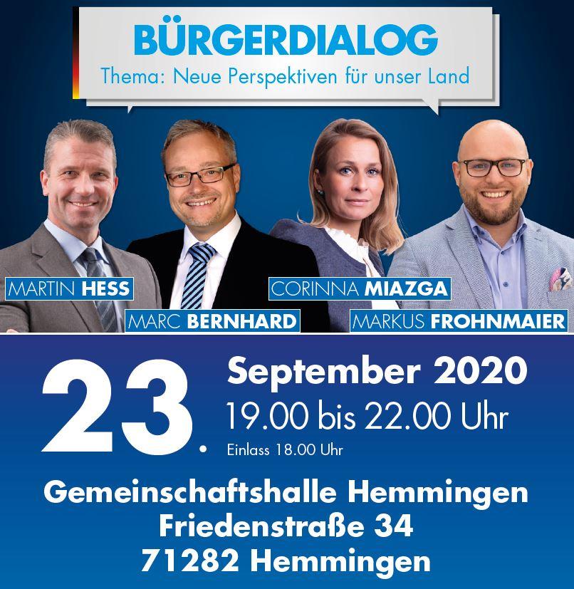 Bürgerdialog in Ludwigsburg