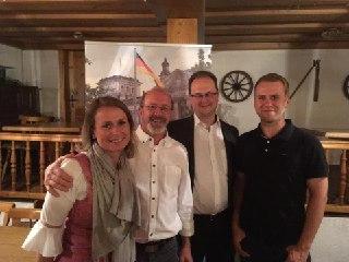 Wahlkampfauftritt in Bamberg