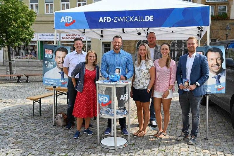 Infostand KV Zwickau