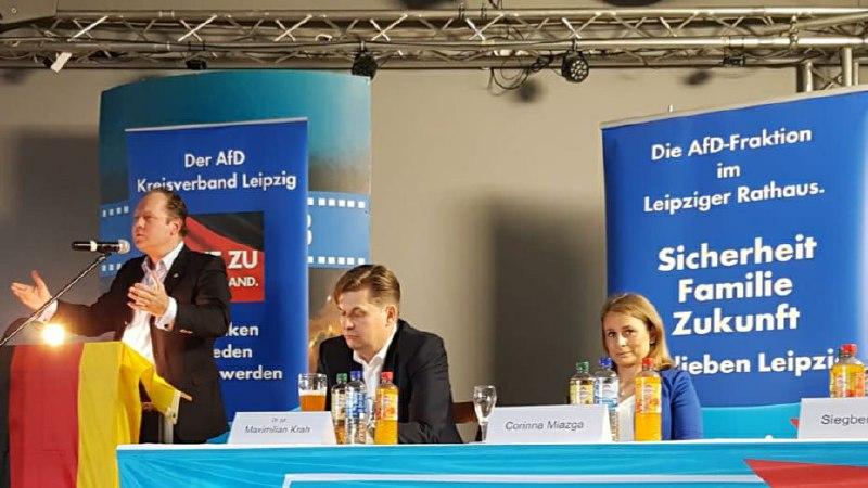 Tag der Europawahl - bei der AfD in Berlin