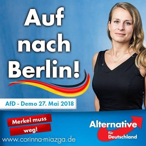 AfD-Demo in Berlin 2018