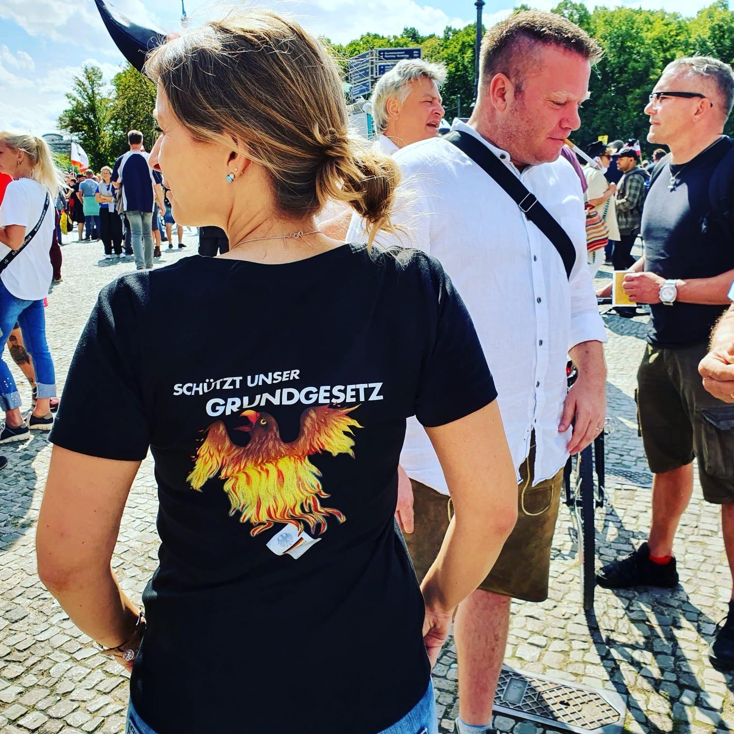 Demo in Berlin 2020