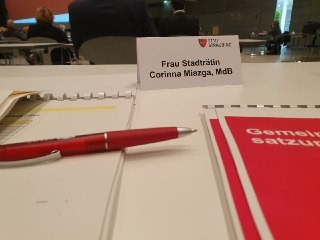 konstituierende Sitzung Stadtrat Straubing