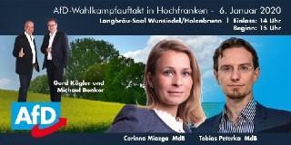 Wahlkampfauftakt beim KV Hochfranken