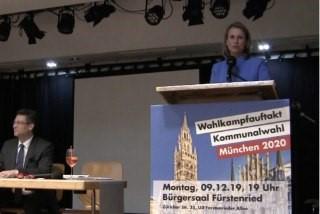 Wahlkampfauftakt in München
